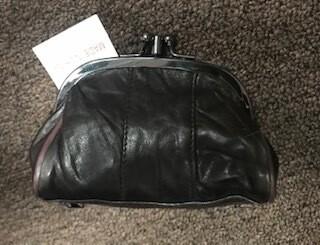 coin purse/dark brown