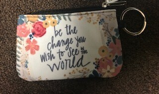 coin & ID purse/be the change