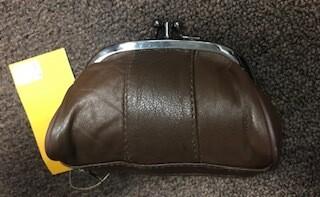 coin purse/chocolate brown