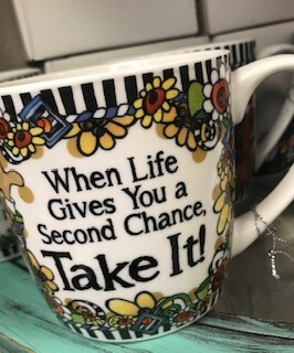 Drinkware/Mug/When life gives you a second chance take it