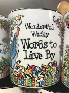 Drinkware/Mug/wonderful, wacky words to live by