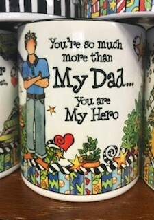 Drinkware/Mug/you're so much more than my dad, you are my hero