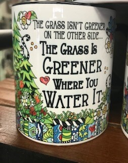 Drinkware/Mug/the grass isn't greener on the other side