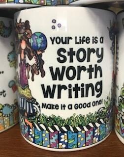 Drinkware/Mug, your life is a story worth writing