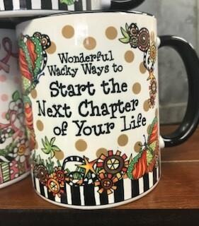 Drinkware/Mug,wonderful, wacky ways to start the next chapter of your life