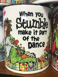 Drinkware/Mug/when you stumble, make it part of the dance