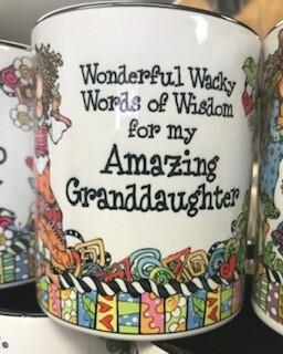 Drinkware/Mug/wonderful wacky words of wisdom for my amazing granddaughter