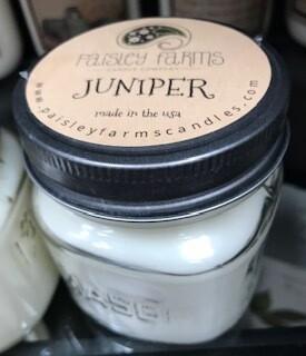 Candle/Paisley Farm/Juniper/small jar