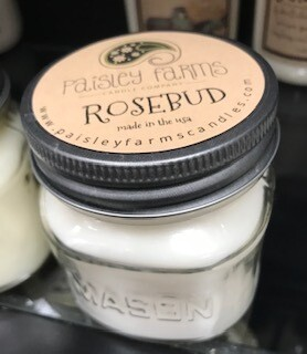 Candle/Paisley Farm/Rosebud/sm. jar