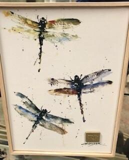 Home decor/wall art/ 8x6/Dragonfly