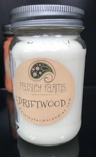 Candle/Paisley Farms/Driftwood