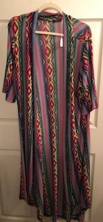 Apparel/Duster/Crazy Train one size fits most