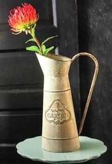 Home decor/tall narrow pitcher