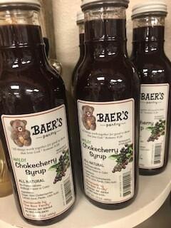 Baer Jam Choke Cherry Syrup