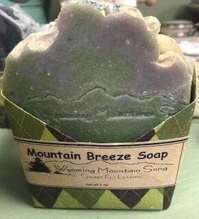 Wyoming Mountain Song Soap//Mountain Breeze