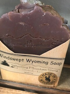 Wyoming Mountain Song Soap/Windswept soap