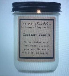 Candle/1803/14 oz./Coconut Vanilla