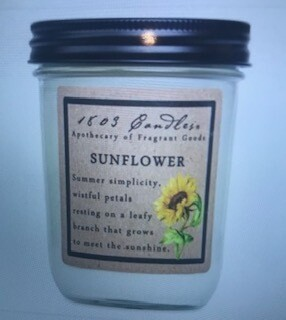 Candle/1803/14oz./sunflower