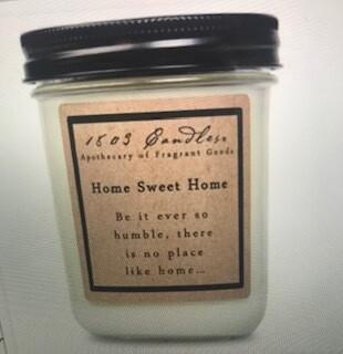Candle/1803/14oz. jar/Home Sweet Home