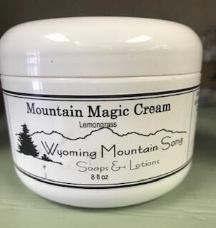 Wyoming Mountain Song/Mountain Magic Cream in lemongrass & cedar-n-sage