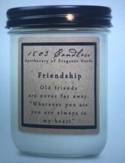 Candle/1803/14oz. jar/Friendship