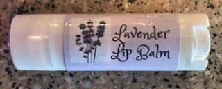 Land of Lavender/Lavender lip balm