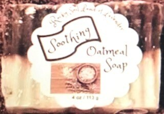 Land of Lavender/soothing oatmeal soap