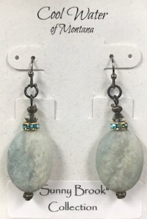 Coolwater Jewelry/aquamarine earring