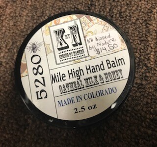Bath & Body/Mile High Hand Balm/Oatmeal Milk & Honey/Lavender