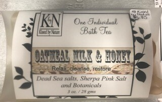 Bath & Body/ Oatmeal Milk and Honey bath tea