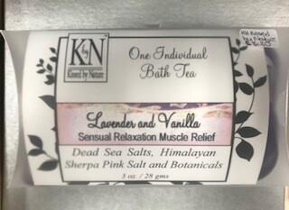 Bath & Body/Lavender & Vanilla Bath Tea