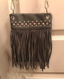 Crossbody bag by Chic/ with fringe
