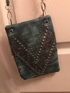 Crossbody bag by Chic/Teal