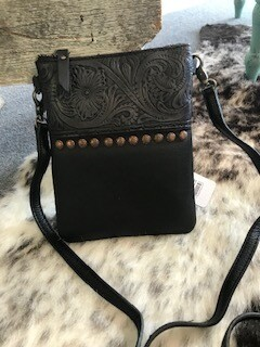 Montana West/crossbody bag/black