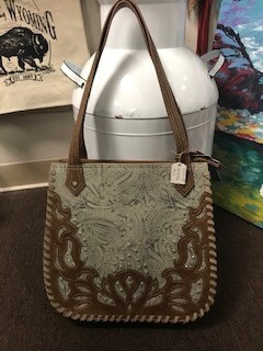 Trenditions Handbag/tan and brown/concealed
