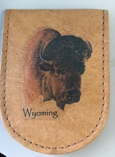 Wyoming Souvenir/Money holder/magnetized
