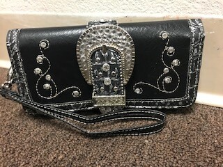 Montana West/black wallet