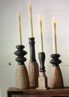 Home decor by Melrose/candle holder decor/set of 4/8.75