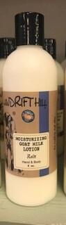 Windrift Hill/Goats Milk Lotion/Rain Scent