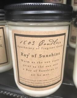 Candle/1803/14 oz./Ray of Sunshine