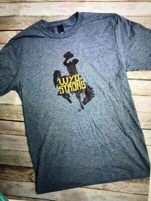 Wyoming Strong Tee Shirt