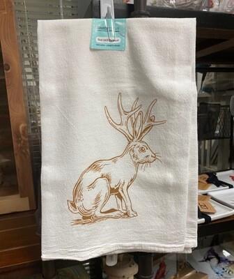 Tea towel/jackalope
