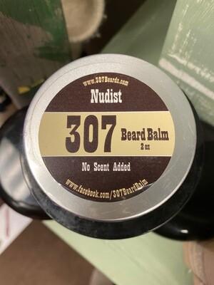 307 Beard/Beard Balm/Nudist(no scent)/2 oz