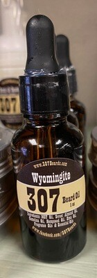 307 Beard/1 oz. beard oil/Wyomingite