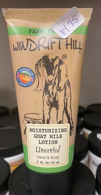 Windrift Hill/Unscented 2 oz. lotion