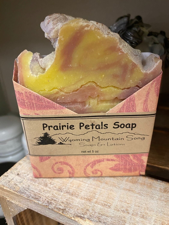 Wyoming Mountain Song soap/prairie petals