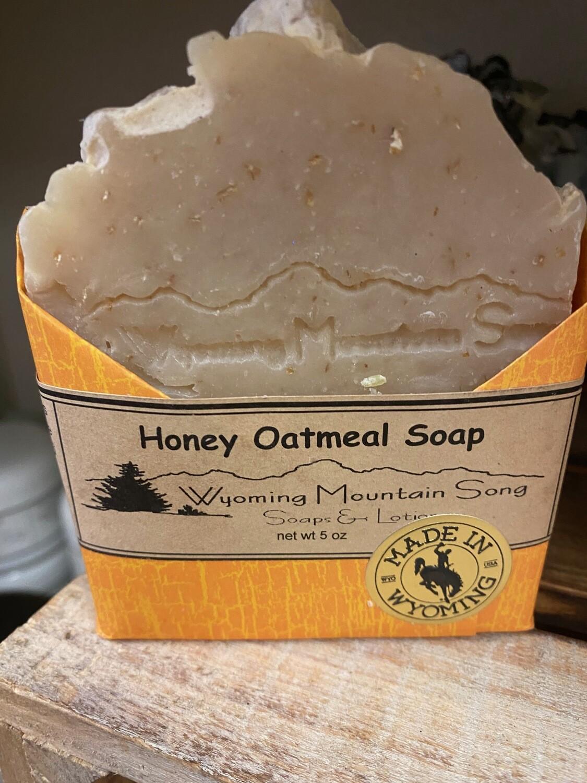Wyoming Mountain Song Soap/Honey Oatmeal