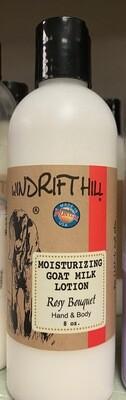 Windrift Hill/Rosy Bouquet/goat milk lotion