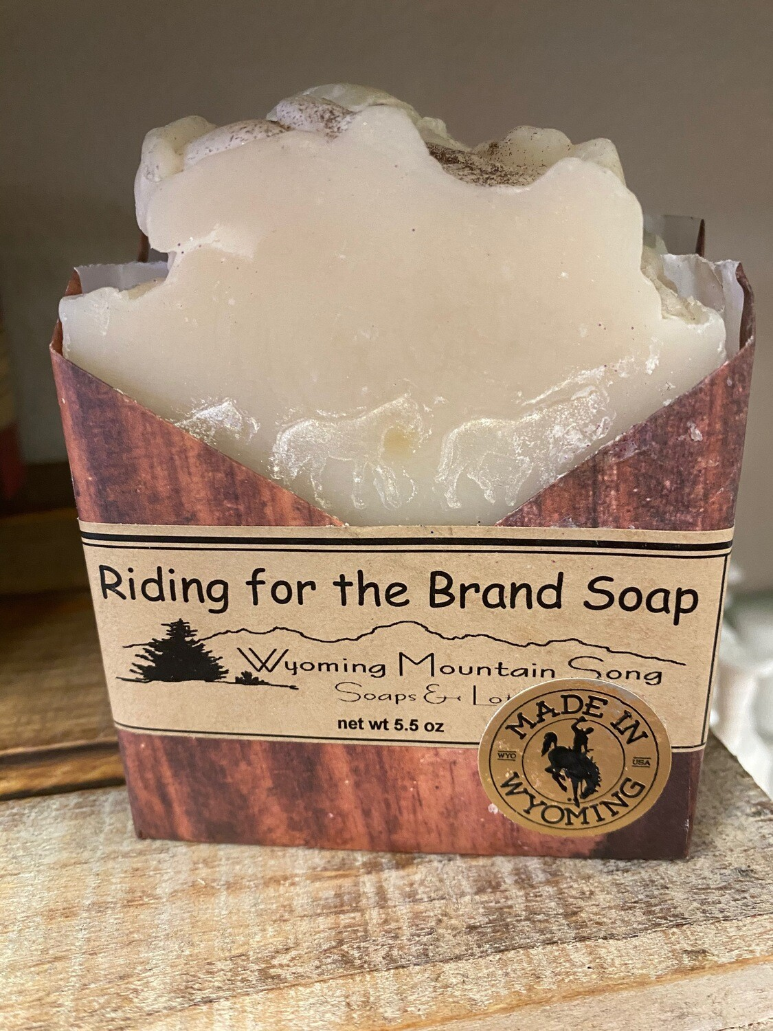Wyoming Mountain Song soap/Riding for the Brand