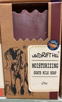 Windrift Hill/goats milk soap/One